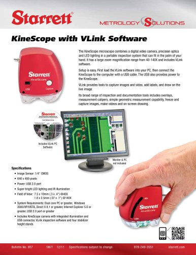 KINESCOPE WITH VLINK SOFTWARE
