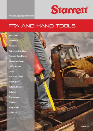 PTA AND HAND TOOLS