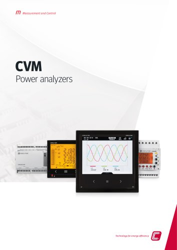 CVM Power analyzers