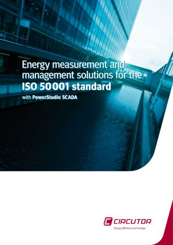 Energy measurement and management solutions for the ISO 50001 standard with PowerStudio SCADA