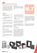 MEASUREMENT TRANSFORMERS AND SHUNTS - 3
