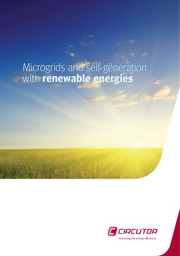 Microgrids and self-generation with renewable energies