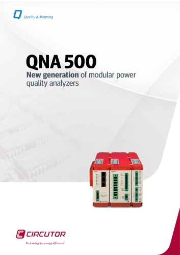 Modular power quality analyzers QNA 500