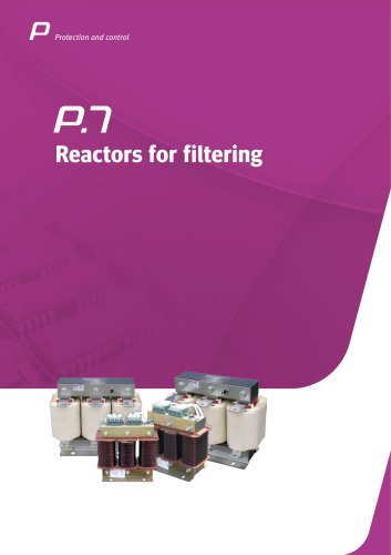 Reactors for filtering