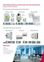 Solutions for earth leakage protection and circuit breakers with automatic reclosing system - 7