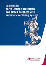 Solutions for earth leakage protection and circuit breakers with automatic reclosing system
