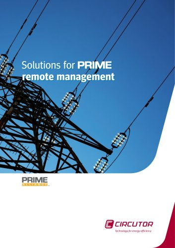 Solutions for PRIME remote management