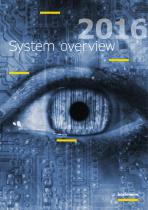System overview 2016