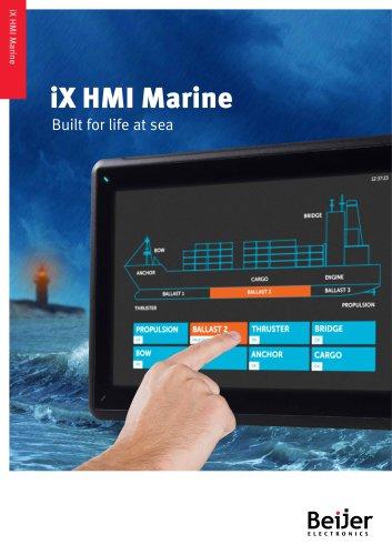 iX HMI Marine