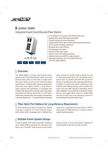 JetNet 3008f