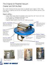 Air-Powered Vacuum Cleaners - 2