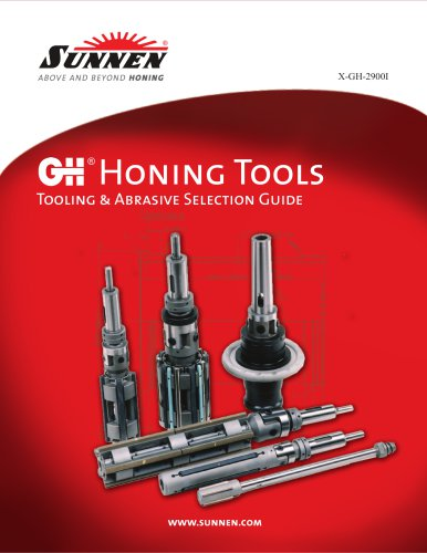 GH Tooling Catalog