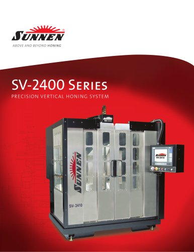 SV-2400 Series Precision Vertical Honing System