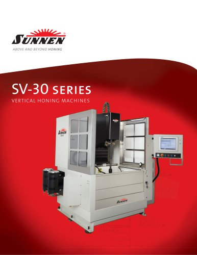 SV-30 Series Vertical Honing Systems