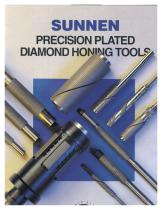 X-DPT-1002: Sunnen Precision Diamond Plated Honing Tools