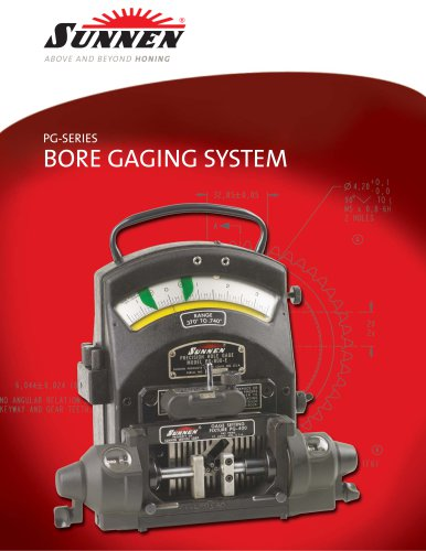 X-SP-9000: The Sunnen Bore-Gaging System
