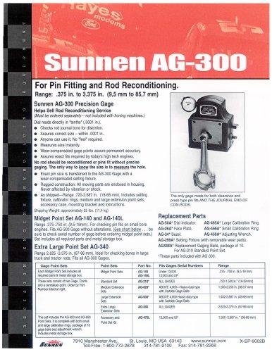 X-SP-9002: AG-300 Precision Gage