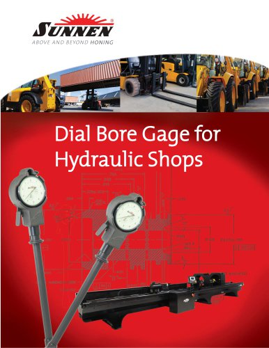 X-SP-9004: Dial Bore Gages for Hydraulic Shops