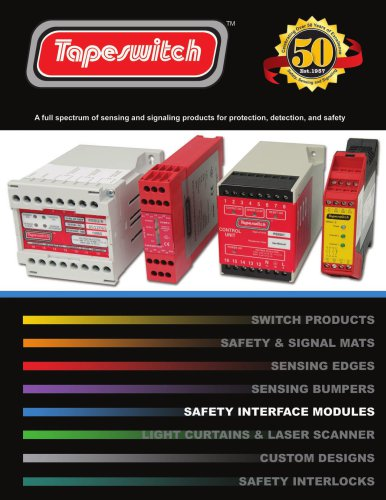 Safety Interface Module Catalog