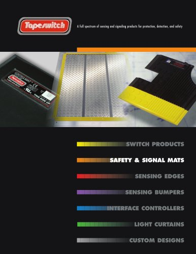 Safety & Signal Mats Catalog