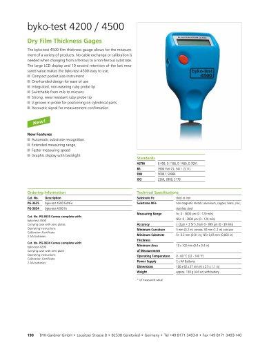 byko-test 4200 / 4500