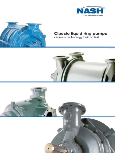 Classic Liquid Ring Pumps & Compressors Brochure - English