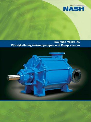 NASH Vectra XL - Liquid Ring Vacuum Pumps and Compressors