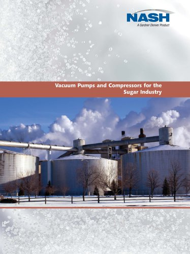 Vacuum Pumps and Compressors for the Sugar Industry