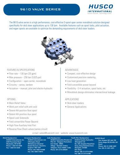 9610-valve - Husco International - PDF Catalogs | Technical