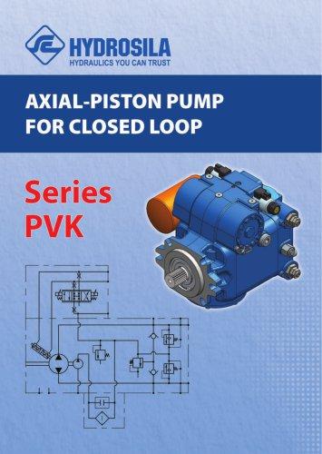 Axial-piston pump for closed loop