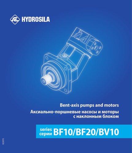 Bent-axis pumps & motors BF10, BF20, BV10
