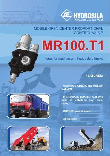Control valve MR100.T1