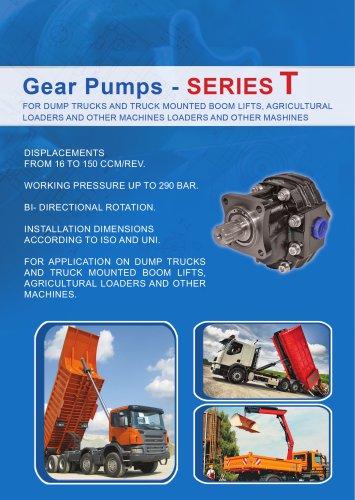 Gear pumps series T