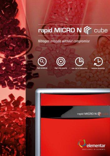 rapid MICRO N