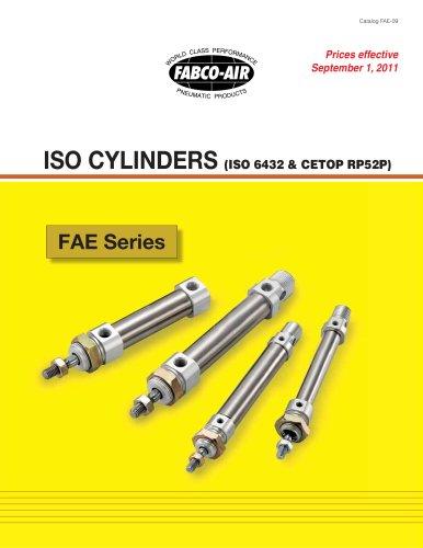 FAE Series ISO-6432 Catalog