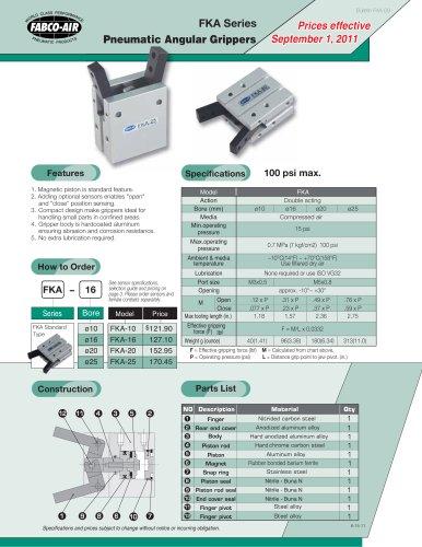 FKA Gripper Catalog