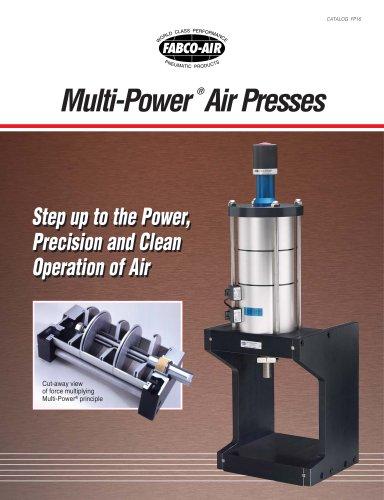 Multi-Power Air Press Catalog