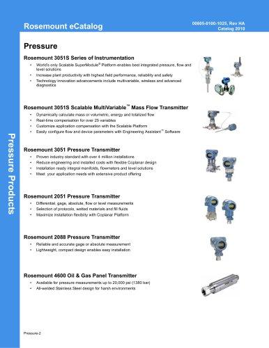 Pressure Overview