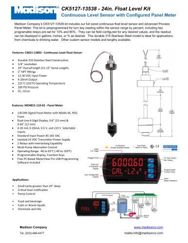CK5127-13538 - 24in. Float Level Kit