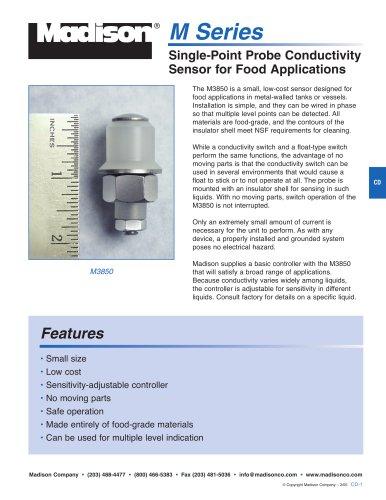 Single-Point Probe Conductivity Sensor for Food Applications (M3850)
