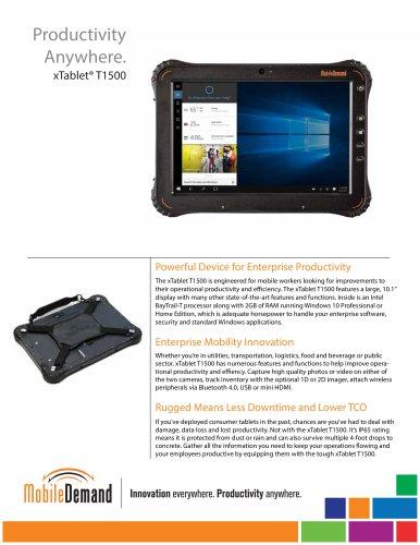 Outstanding Xtablet T1500 Tablet Mobiledemand Pdf Catalogs Download Free Architecture Designs Scobabritishbridgeorg