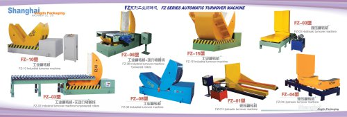 JLPACK Coil tilter for turning over heavy products FZ series