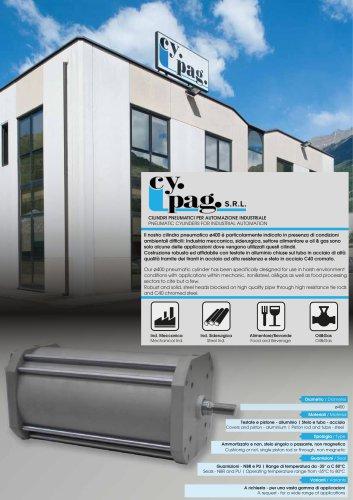 Pneumatic cylinder ø400