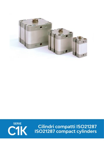 SERIE C1K ISO21287 compact cylinders