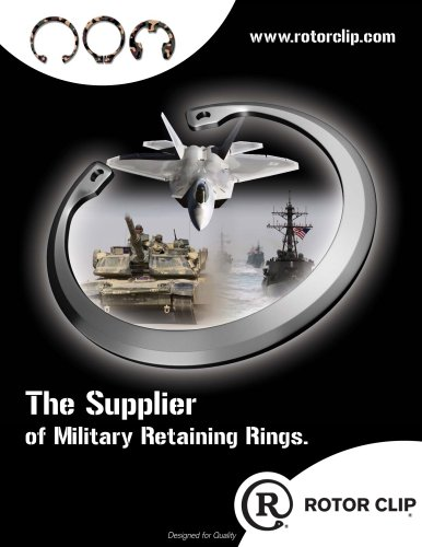 The Supplier of Military Retaining Rings.