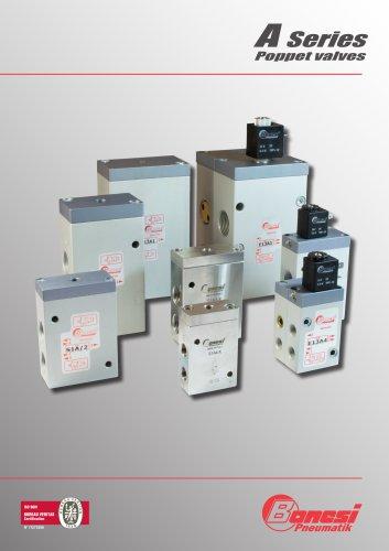 A series Poppet valves