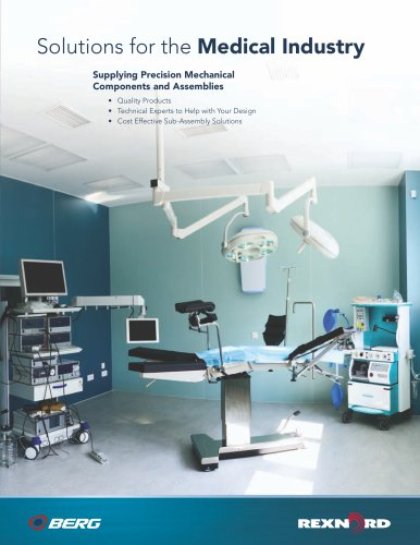 Solutions for the Medical Industry