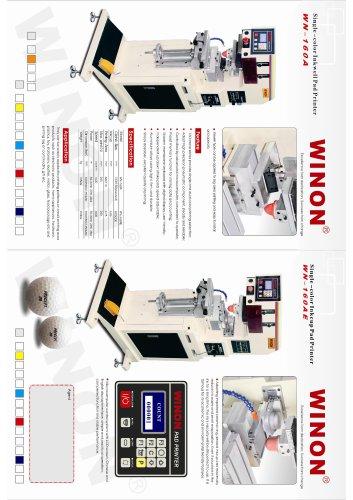 PAD PRINTING MACHINE WN-160A, 160AE