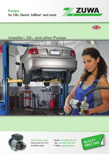 Automotive - Pumps for Oils, Diesel, AdBlue® and more