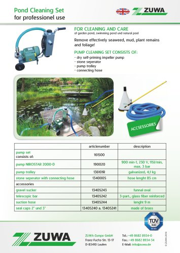 Pond Cleaning Set